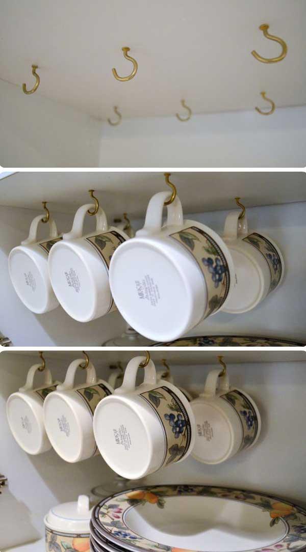 30 Extraordinary Creative And Graphic Diy Mug Storage To