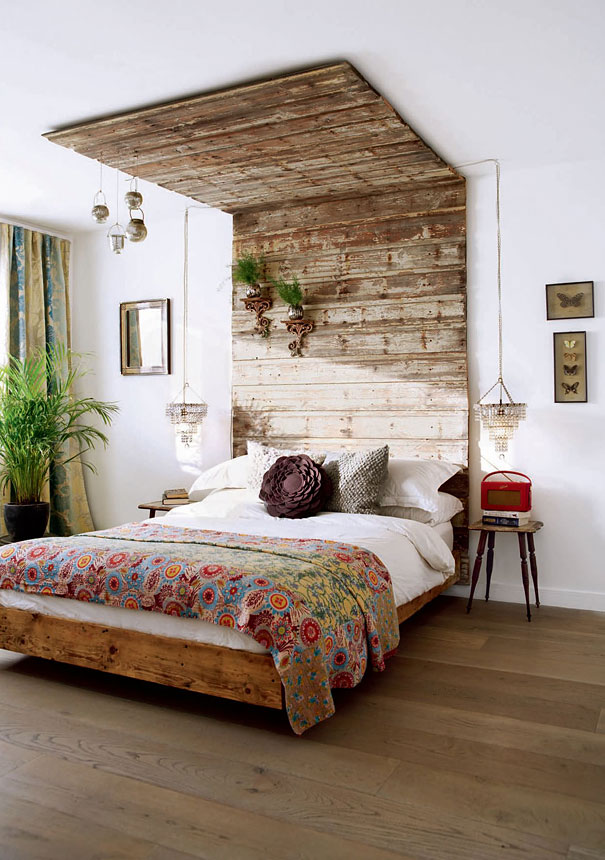 30 Smart and Creative DIY Headboard Projects To Start Right Away usefuldiyprojects.com decor (15)