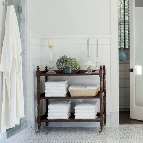 Creative Yet Practical DIY Bathroom Storage Ideas Usefuldiyprojects.com (19)