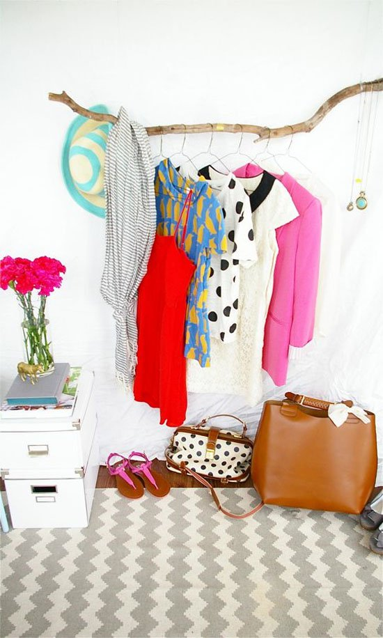 DIY Clothing Storage Solutions For Small Spaces-usefuldiyprojects (27)