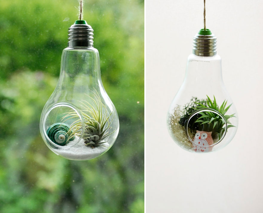Having Fun With  Light Bulb Projects-usefuldiyprojects.com (24)