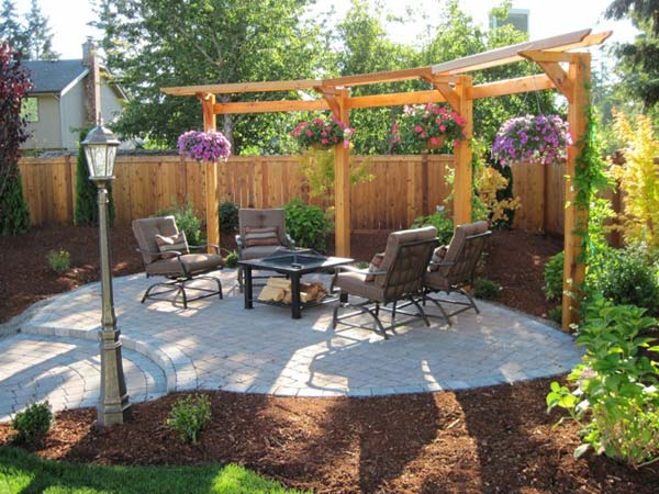 25 Beautifully Inspiring DIY Backyard Pergola Designs For Outdoor Enterntaining usefuldiyproject pergola design (24)