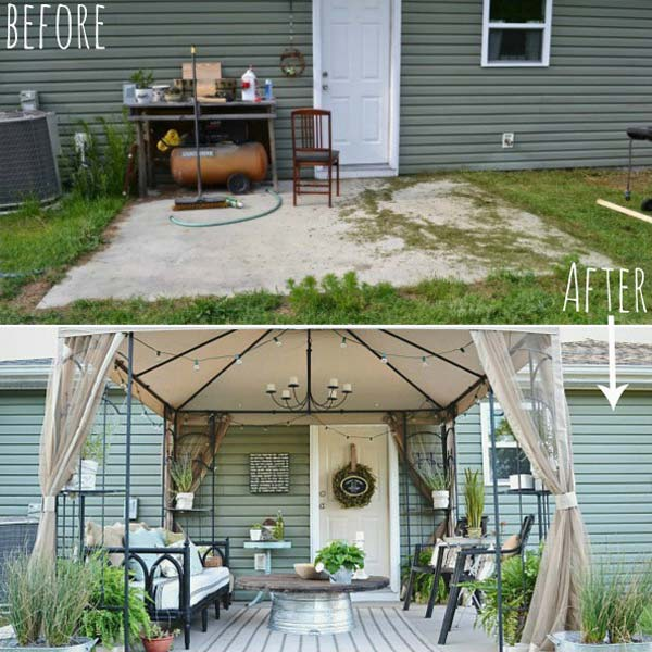 25 Beautifully Inspiring DIY Backyard Pergola Designs For Outdoor Enterntaining usefuldiyproject pergola design (5)