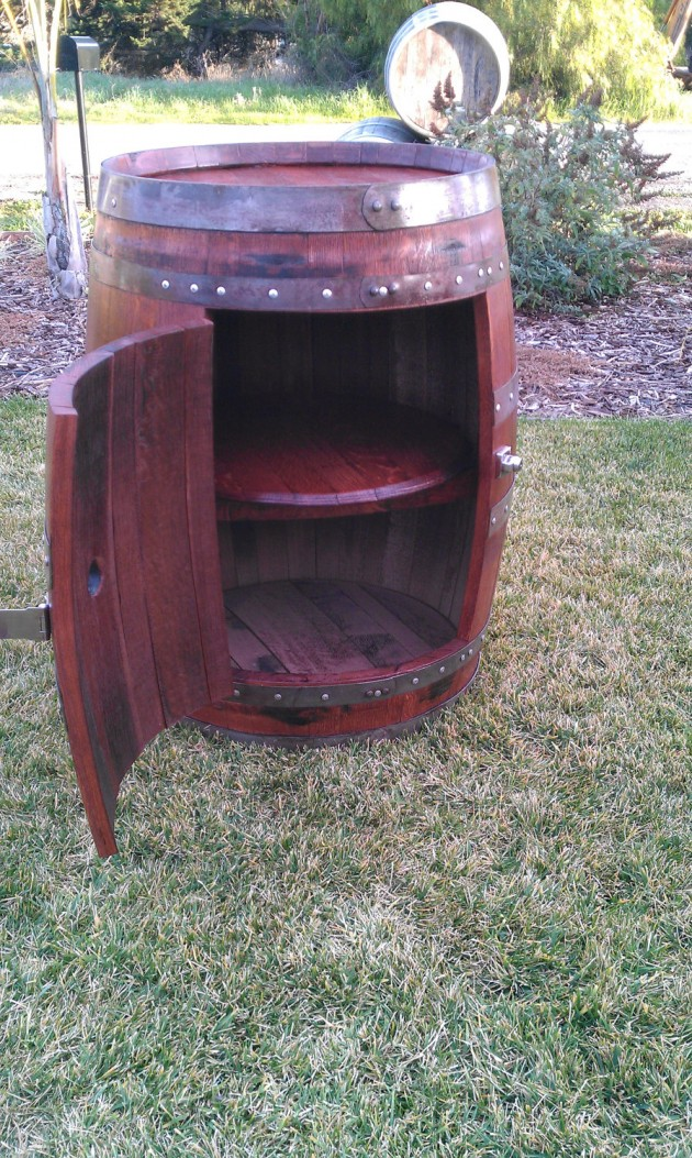 diy wine barrels ideas