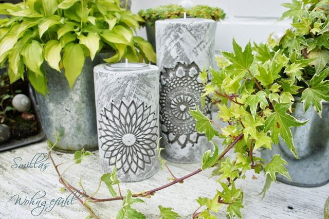 19 beautiful diy cement crafts to add diversity to your for Craft cement mix
