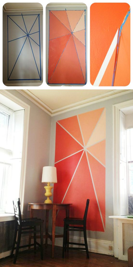 11 Go Crazy And Realize This Ombre Accent Wall 791e4a47f7a226801e8d777c995b58b7