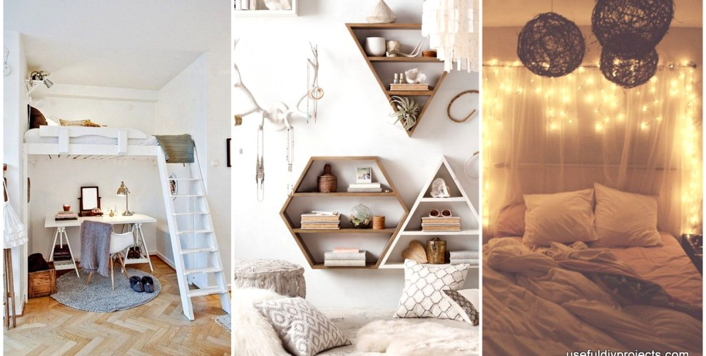 Get Yourself Ready for These 16 Small Bedroom Ideas - Useful DIY ...