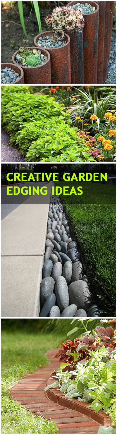 15 Garden Edging Ideas That Will Make Your Garden Stand Out - Useful ...
