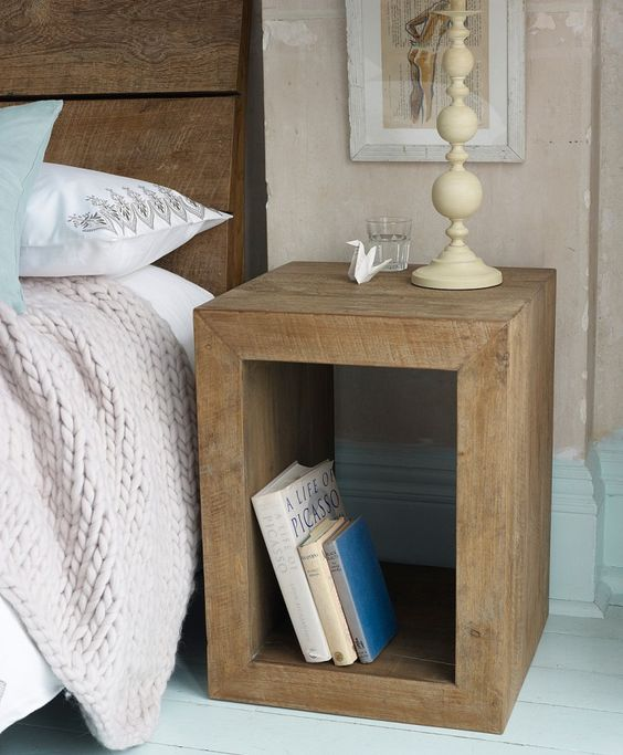 18 Ideas That Will Transform: 18 DIY Nightstands To Transform Your Bedroom