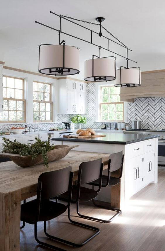 Room Designer Kitchen: 15 Kitchen Island Table Designs To Incorporate Into Your