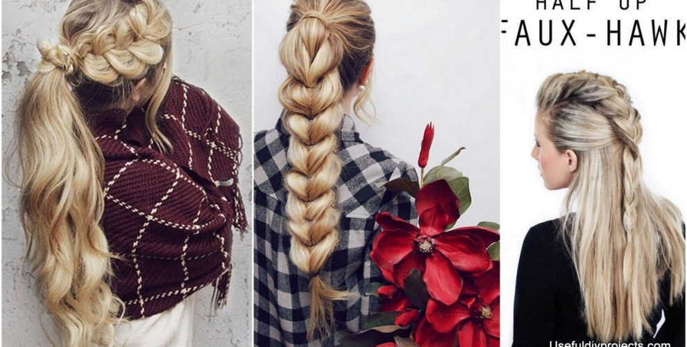 A Whole Month Of New Braided Hairstyles With These 33 Easy Braids ...
