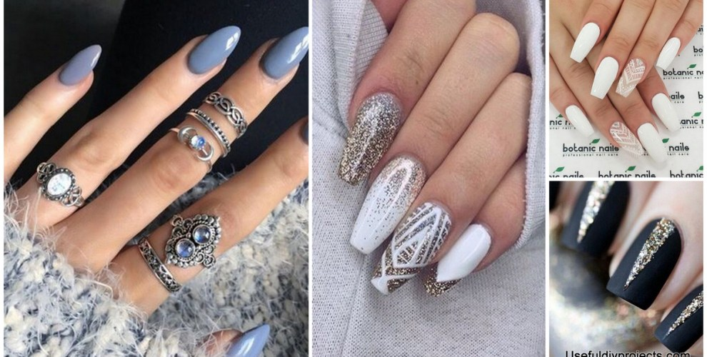 37 Acrylic Nail Art Designs You'll Want To Try For Upcoming Parties And  Events - 37 Acrylic Nail Art Designs You'll Want To Try For Upcoming Parties