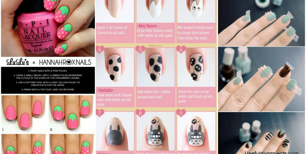 111 Nail Art Tutorials Learn How To Do The Simple Ones To