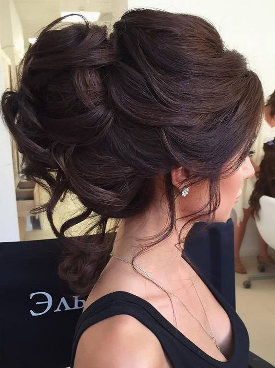 17 Of The Loveliest Updos For Long Hair To Do On Weddings And Proms - Useful DIY Projects