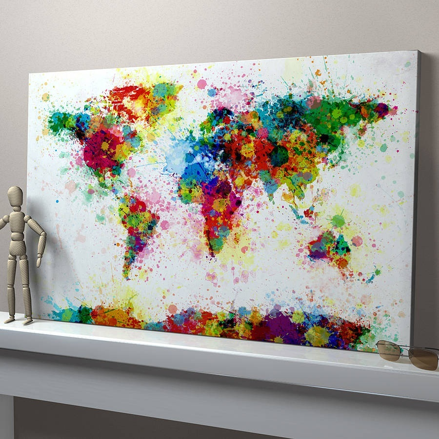 21 easy canvas paintings and techniques to try useful Diy canvas painting designs