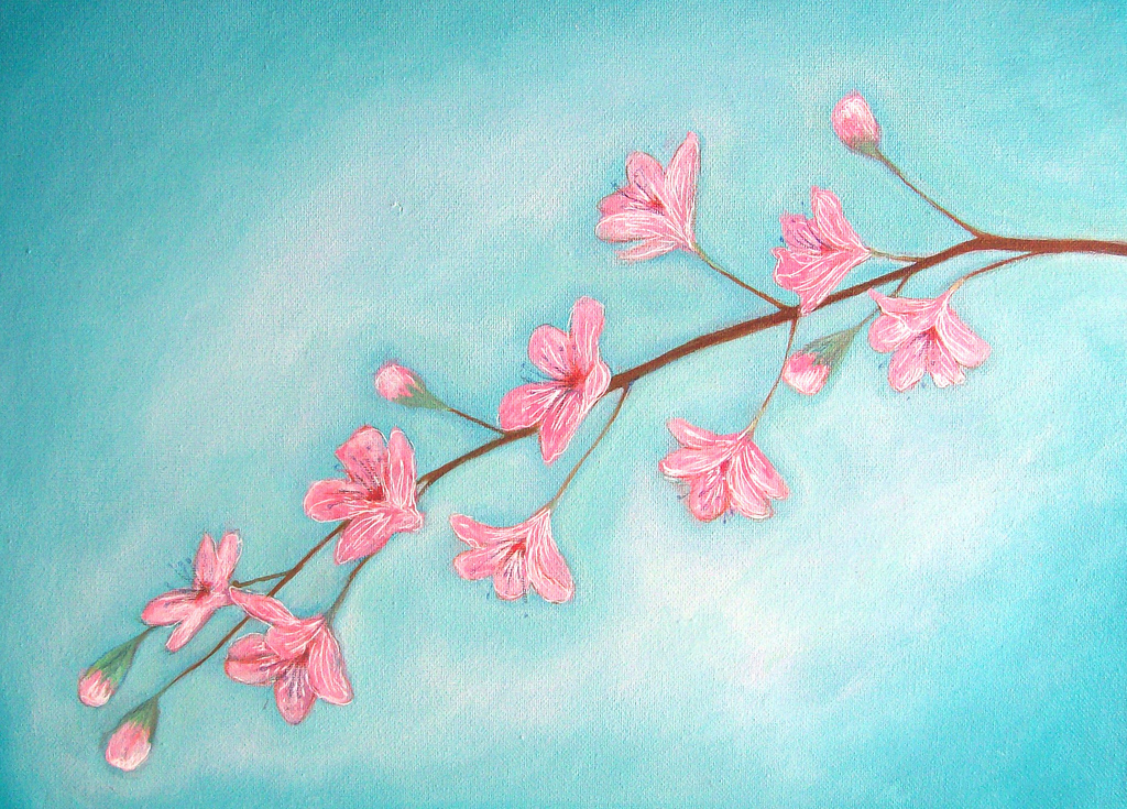 stunning Canvas Paintings For Beginners Part - 9: 10. CREATE DELICATE DEPICTIONS IN PASTEL HUES