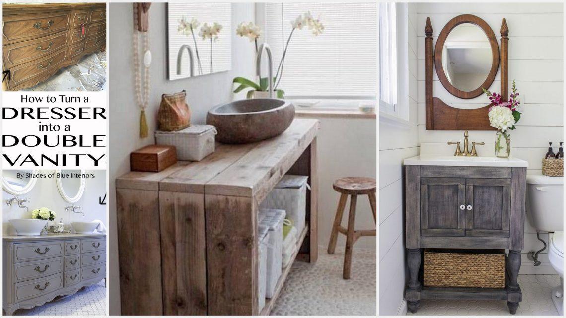 15 Diy Bathroom Vanity Ideas On A Budget Useful Diy Projects
