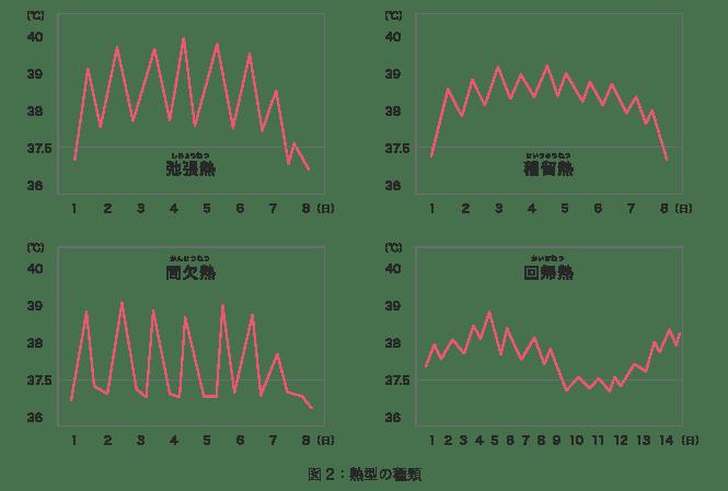 熱型グラフ(表)