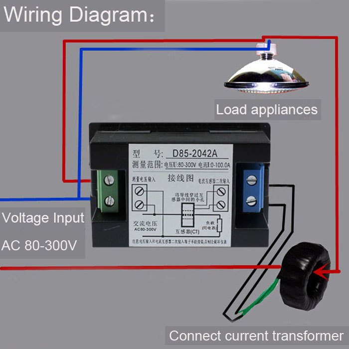 Ammeter Shunt Wiring Diagram Likewise Digital Ammeter Wiring Diagram