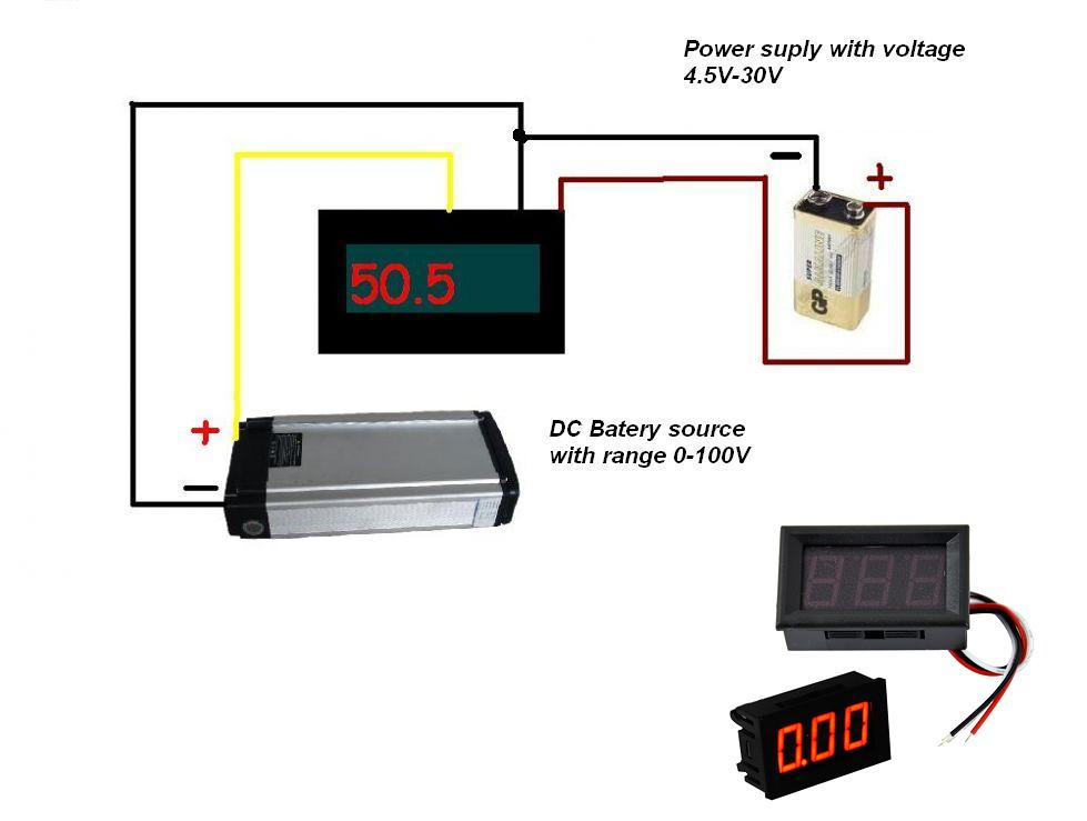 Volt Meter Wiring Diagram on digital amp meter wiring diagram