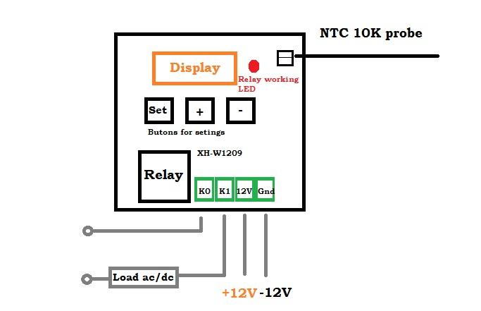wiring diagram for temperature controller