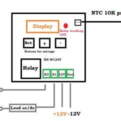 Stc 1000 Temperature Controller Wiring Nema L6 30 Diagram Usefulldata Com Cheap 12v Xh W1209 With Schematic
