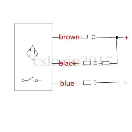 small resolution of schematic for hall proximity switch from ebay it s like a baby is drawing it in practice for laymen this diagram inappropriate