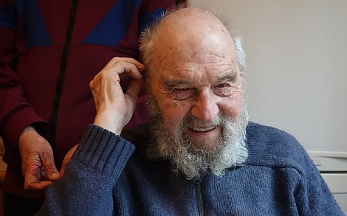 Programme Name: Storyville - TX: n/a - Episode: George Blake: Storyville (No. n/a) - Picture Shows: at his home outside Moscow George Blake - (C) George Carey - Photographer: George Carey