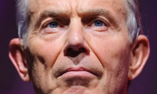 Tony Blair will warn of the risks to Britain of falling to Europe's margins.