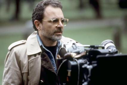 BODY OF EVIDENCE, director Uli Edel, on set, 1993. ©MGM