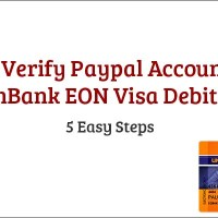 How to Verify Paypal Account Using UnionBank EON Visa Debit Card