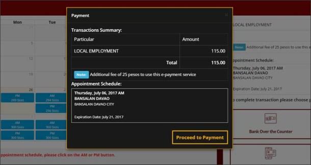 Step 7b Payment Transaction Summary 2