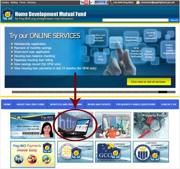 1 Pag-IBIG Website