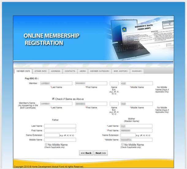 3a Member Info