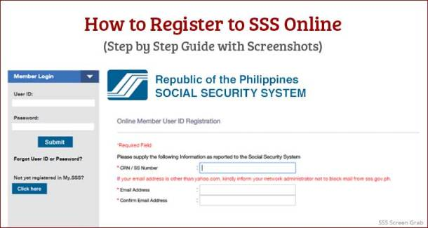 How to Register to SSS Online