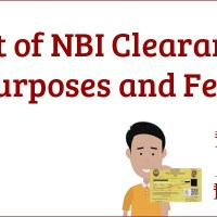 List of NBI Clearance Purposes and Fees