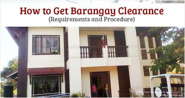 How to Get Barangay Clearance