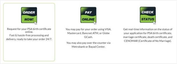Step 1 PSA Helpline Website