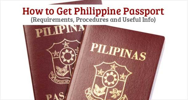 How to Get Philippine Passport