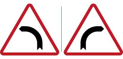 26. Curve to the Left - Right