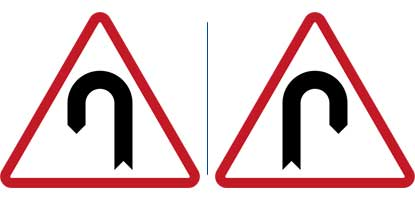 27. Hairpin Curve to the Left - Right
