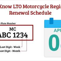 How to Know LTO Motorcycle Registration Renewal Schedule