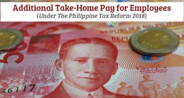 Additional Take-Home Pay for Employees - Philippine Tax Reform 2018