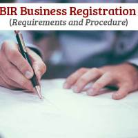 BIR Business Registration - Requirements and Procedure