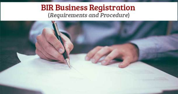 BIR Business Registration - Requirements and Procedure