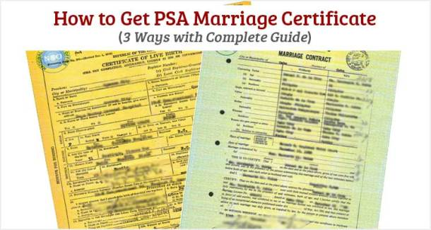 how to get psa marriage certificate - useful wall
