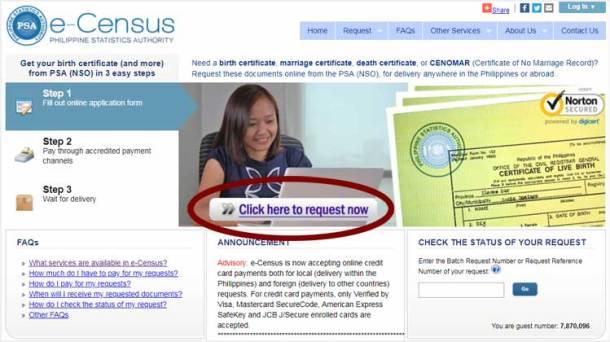 Step 1. e-Census