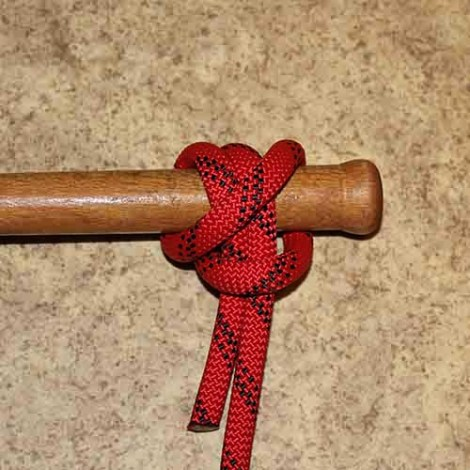 Pile hitch step by step how to tie instructions