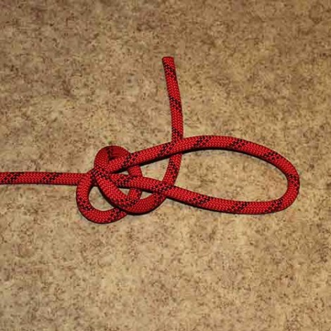 Poacher's knot step by step how to tie instructions