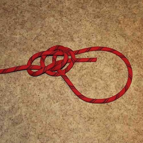 Water bowline step by step how to tie instructions